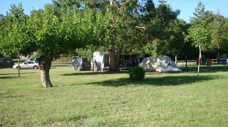 Emplacement camping La Goule