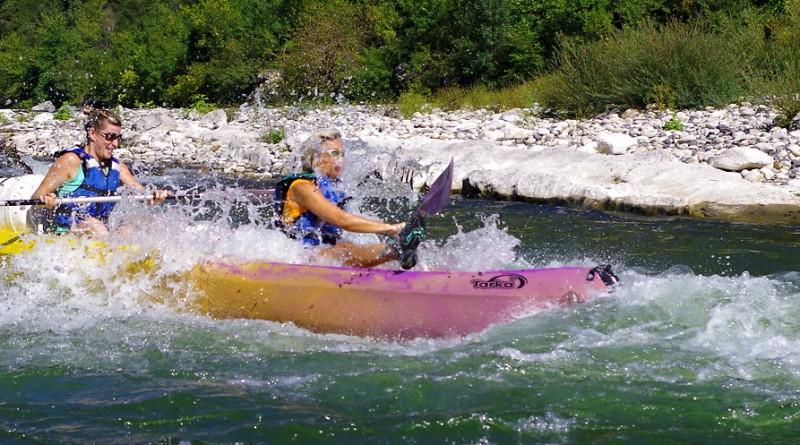Itinéraire passion-Canoës Kayaks