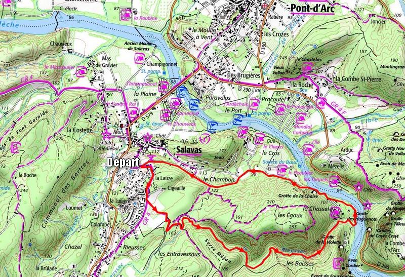 Rieussec, randonnée en Ardèche