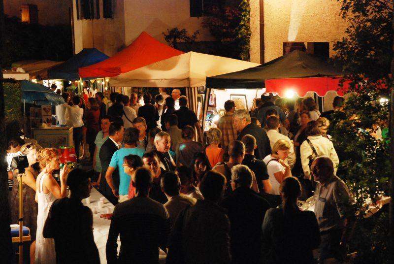 Marchés nocturnes en sud Ardèche