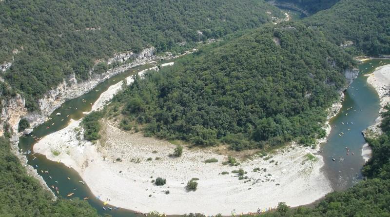 Cirque de la Madeleine dans les Gorges de l'Ardèche