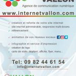 Internet Vallon, création de site internet