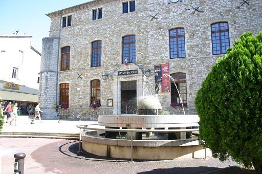 Château Mairie de Vallon Pont d'Arc