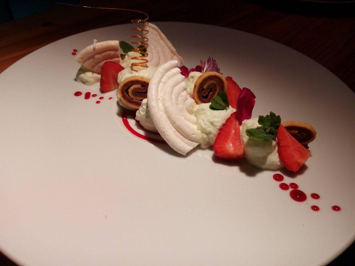 Dessert inventif