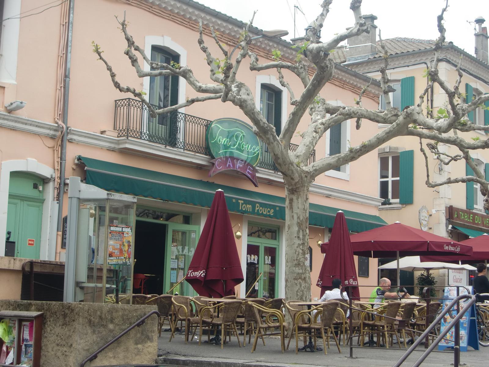 Tom pouce café Vallon tourisme