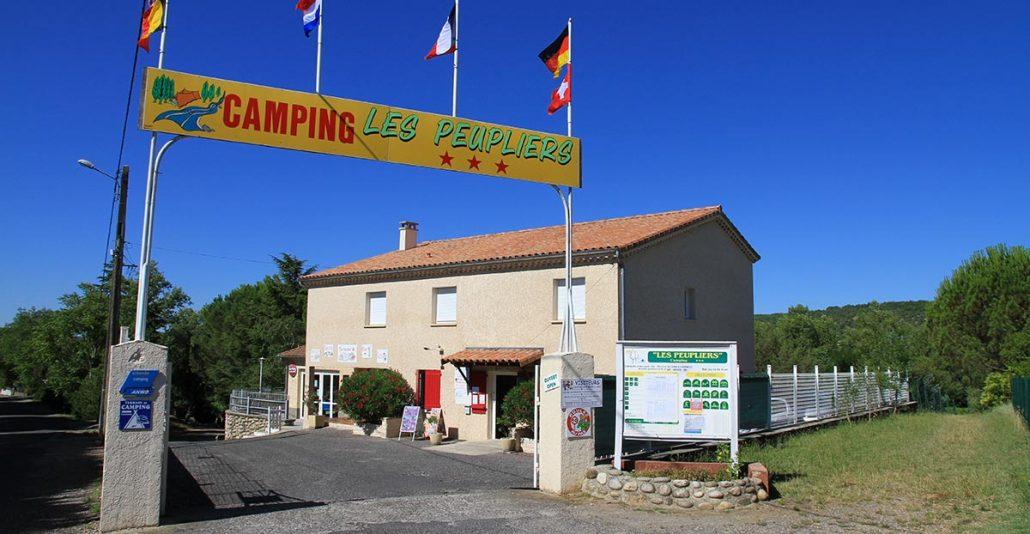 Camping Les Peupliers- Vogüé-Ardèche
