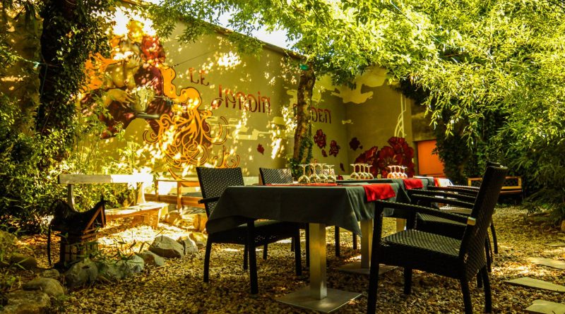 Jardin d 39 eden restaurant vallon tourisme for Cafe jardin menu