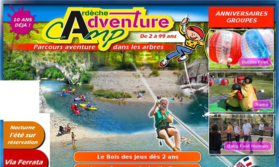 Adventure Camp – Parc de loisirs