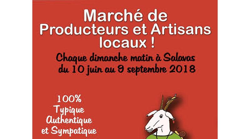 Marchons Local – Marché de Pays à Salavas