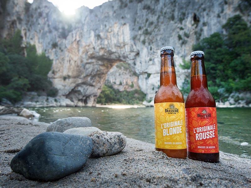 biere du pont d'arc , bière artisanale