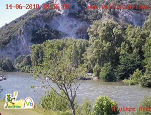 Webcam Gorges de l'Ardèche