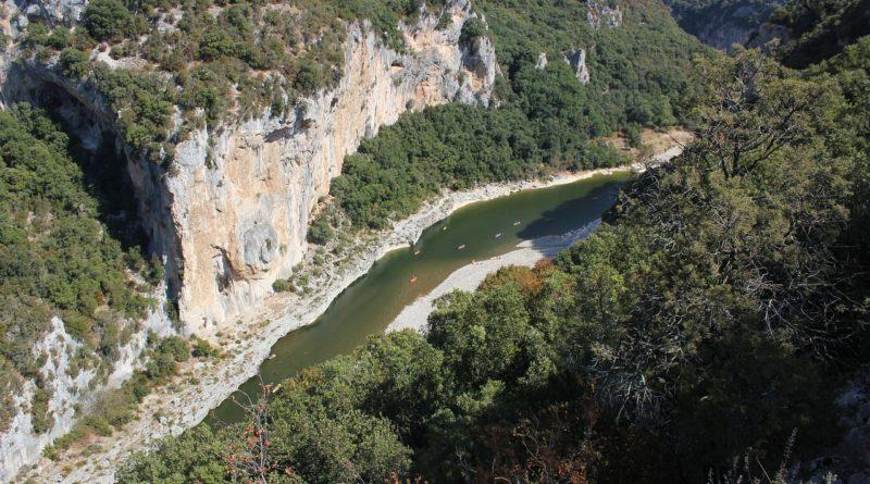Les belvédères des Gorges de l'Ardèche