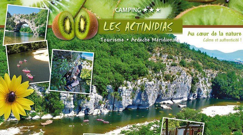 Camping*** Les Actinidias